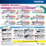 Sewing Machines BM 2600 NV 10 50 950 1250D 4000D 6000 PR 1000 Labeller P-Touch PT-80 90 QL-570 1280 2430PC 1290 3020 2730 7600