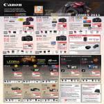 Digital Cameras DSLR EOS 1100D 550D 600D 60D 7D Camcorder Legria HF G10 S30 M41 M400 R28 R27 FS 46 FS 406