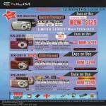Digital Cameras Exilim ZS10 ZS15 S200