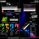 Electronic Musical Keyboard CTK-5000 Specifications
