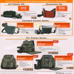 Lowepro Bags ILC Classic 100 StreamLine Compact Courier 70 80 Pro Trekker 300 AW 400 600