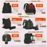 Lowepro Bags Orin DayPack Fastpack 250 Flipside 200 400 AW Pro Runner 200 AW Lens Trekker 600 AW II