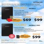 Hitachi Touro Mobile External Storage Pro