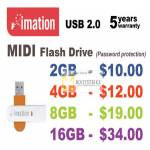 Imation MIDI Flash Drive