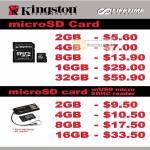 Kingston MicroSD Memory Card