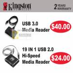 Kingston USB3 Card Reader USB3