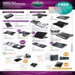 Cooler Master Notebook Power Adapter Cooler Notepal Ergostand U3 E1 X-Lite U2 X2 X-Slim Choiix Power Fort Battery Pack IPower