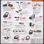 Headphones Earphones Aurvana In-Ear3 In-Ear2 Live In-Ear Air EP-660 X-Fi EP-630 EP-650 Chrome EP-3NC HS-730i Draco HS-850 HS-720