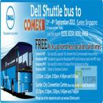 Dell Free Shuttle Bus Service To Suntec