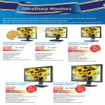 Monitors UltraSharp LED U2412M U2311H U2410 U2711 U3011
