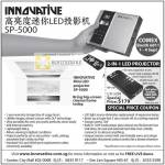 Innovative Mini LED Projector SP-5000 MP-100 Coupon