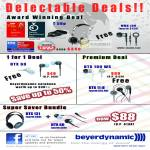 EpiCentre Beyer Dynamic Earphones T50p Headset MMX 100 DTX 60 DTX 100WS DTX 11 IE DTX 131 DTX 60