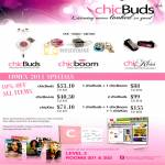 Chicbuds Zebra Chicboom Chickiss Earphones
