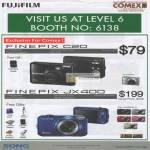 Digital Cameras Finepix C20 JX400