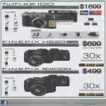 Digital Cameras X100 Finepix HS20 EXR S4000