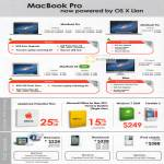 Apple Notebooks MacBook Pro Air AppleCare Microsoft Office 2011 Windows 7 OEM Parallels 6 IPod Nano Touch Classic