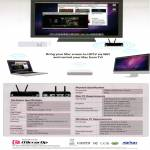 MirrorOp McTiVia HDTV Screen Wifi TV Specifications