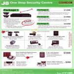 One Stop Security Centre DVR Dome CCD Camera DV80 GPS Tracker Alarm E.M. Lock System Intercom