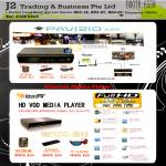 Media Player Pavisio Shining HD12