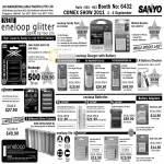 Sanyo Eneloop Glitter Battery Charger Adapter Checker Lite Ni-MH