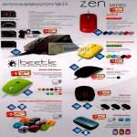 Powerlogic Armageddon G11 Aliencraft Mouse Zen III LZ O Optical Beetle USB Wireless 2GO