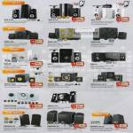 SonicGear Speakers Evo 3 Pro 5 7 Enzo 400 500 600 Ego 6R 7 8T Tatoo 320e 333 Pro 321X 303xb 515 Xanadu X2 X3 Morro 250xb