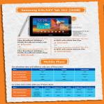 M1 Fibre Broadband Mobile MData Lite Samsung Galaxy Tab 10.1 MData Max Extreme Mobile Plans ValueSurf LiteSurf ExtremeSurf SunLite SunSaver Plus SunMax Tall All U Can