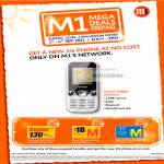 Prepaid Huawei U2800 3G Phone Free Top-Up Card M Card