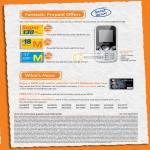 Prepaid Huawei U2800 Super M Card Citi Platinum Visa