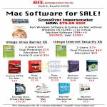 MCL Apple Software CrossOver Impersonator VM Intego Virus Barrier Internet Security Tuxera NTFS Data Rescue Genius Narrator Paperless Encrypt MacJournal MacGourmet