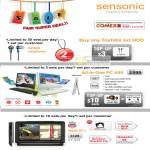 Sensonic Earphone GPS AIO Desktop PC A50 EP300 N520