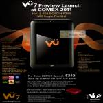 VU7 Preview Launch Creative Vue Networks Tablet Zii