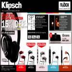 Klipsch Earphones IGroove Dock Image One S3 S4 S4j S5i X10i