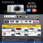 Digital Cameras Pen E-PL1 Single Lens Kit