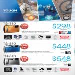 Digital Cameras Tough TG-310 TG-610 TG-810