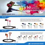 Sennheiser Earphones CX 215 MX 365