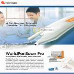 Penpower WorldPenScan Pro Handheld Text Scanner