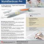 WorldPenScan Pro Pen Scanner Translation