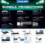 Prolink Bundle Promotions Router HSPA USB HSDPA Modem ADSL2 USB Powerline AV PCI LAN