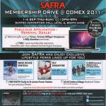 Safra Membership Drive Timex Tommy Hilfiger Timepieces Sentosa IFly G-Max