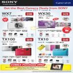 Digital Cameras DSC WX7 WX30 TX100 TX10
