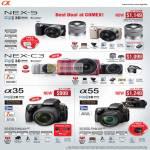 Digital Cameras DSLR Alpha NEX-5 NEX-C3 A35 A55
