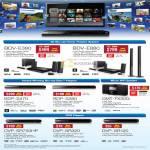 Home Theatre System 3D Blu-Ray BDV E380 E880 BDP S470 S380 CMT-FX300i DVD Players DVP SR750HP SR320 SR120