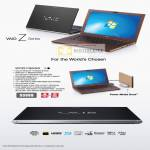 Notebooks Vaio Z Series VPCZ217GG N X
