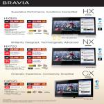 Sony TV Internet Bravia KDL HX925 NX720 CX520