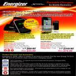 Sprint Cass Energizer Xpal Portable Mobile Phone Charger XP2000 AP1201