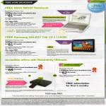 Fibre Home Broadband MaxInfinity Premium Plus Free ASUS N45SF Notebook Samsung Galaxy Tab 10.1 16GB Popbox Ultimate