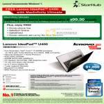 MaxInfinity Ultimate 100Mbps Fibre Broadband Plan Lenovo IdeaPad U400 Notebook Specifications
