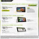 Mobile Broadband MaxMobile Ultimate Samsng Galaxy Tab 10.1 HTC Flyer Acer Iconia Tab