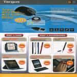 Ultra Mini Blu Trace Mouse LED IPad 2 Case Stylus Keyaord Folio Case CleanVu Cleaning Pads